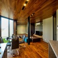 【分譲中】長岡市曙モデルハウス|台形敷地から生まれた切り取られた家