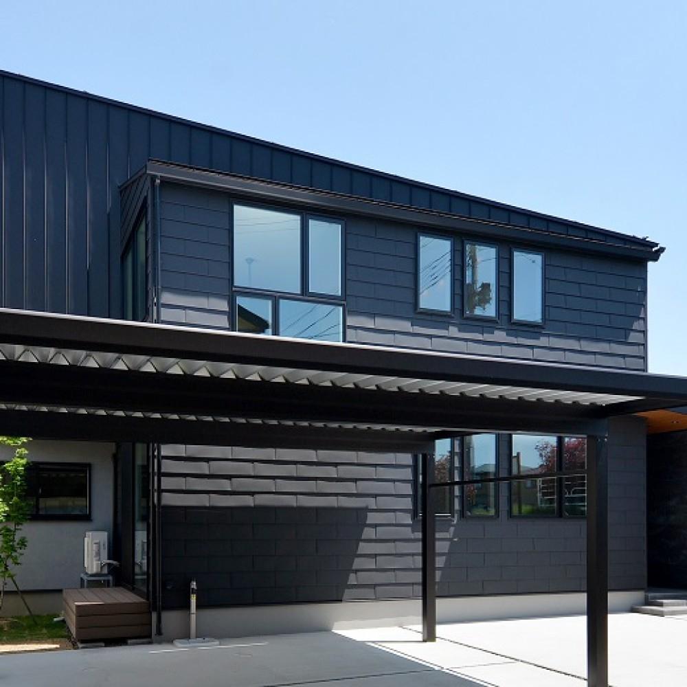 素材を感じる家|新潟市西区|T様邸