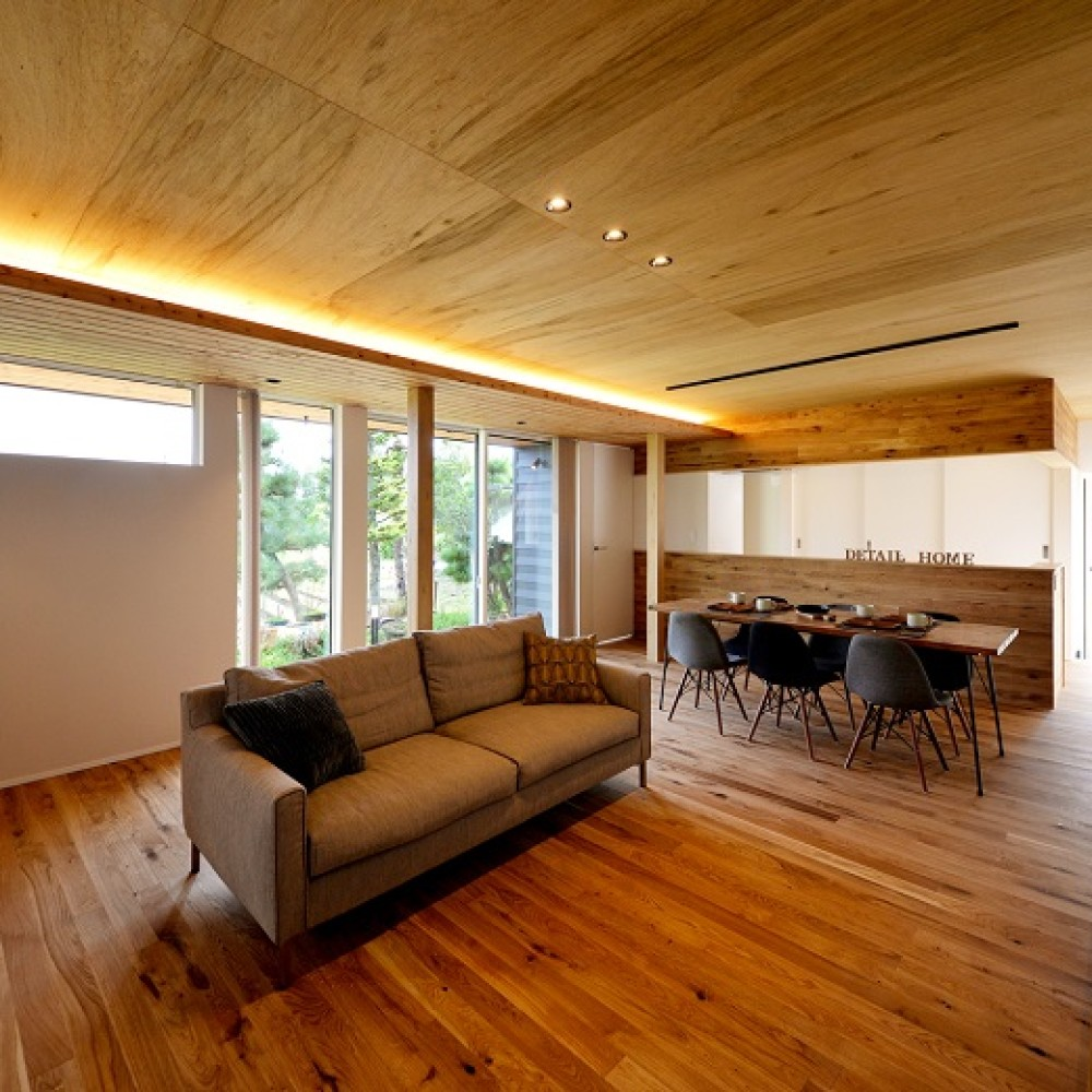 自然素材を楽しむ家|長岡市|Y様邸