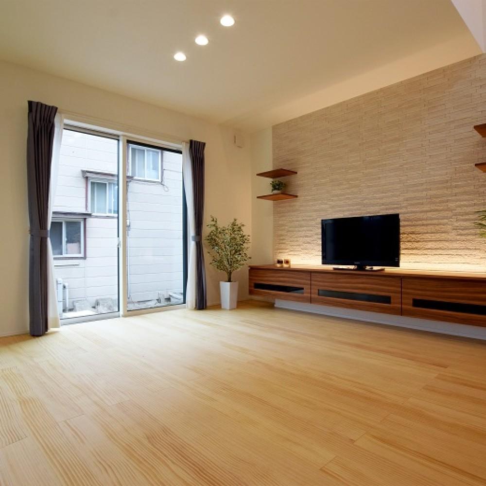 広がりをつくる中庭のある家|新潟市西区|K様邸