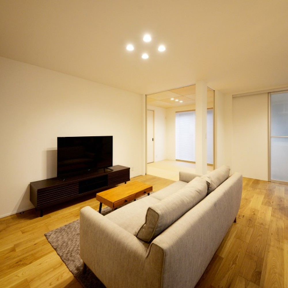 収納とこだわりにあふれた二世帯同居型住宅 – KAJIRAKU DESIGN case.37|長岡市|K様邸