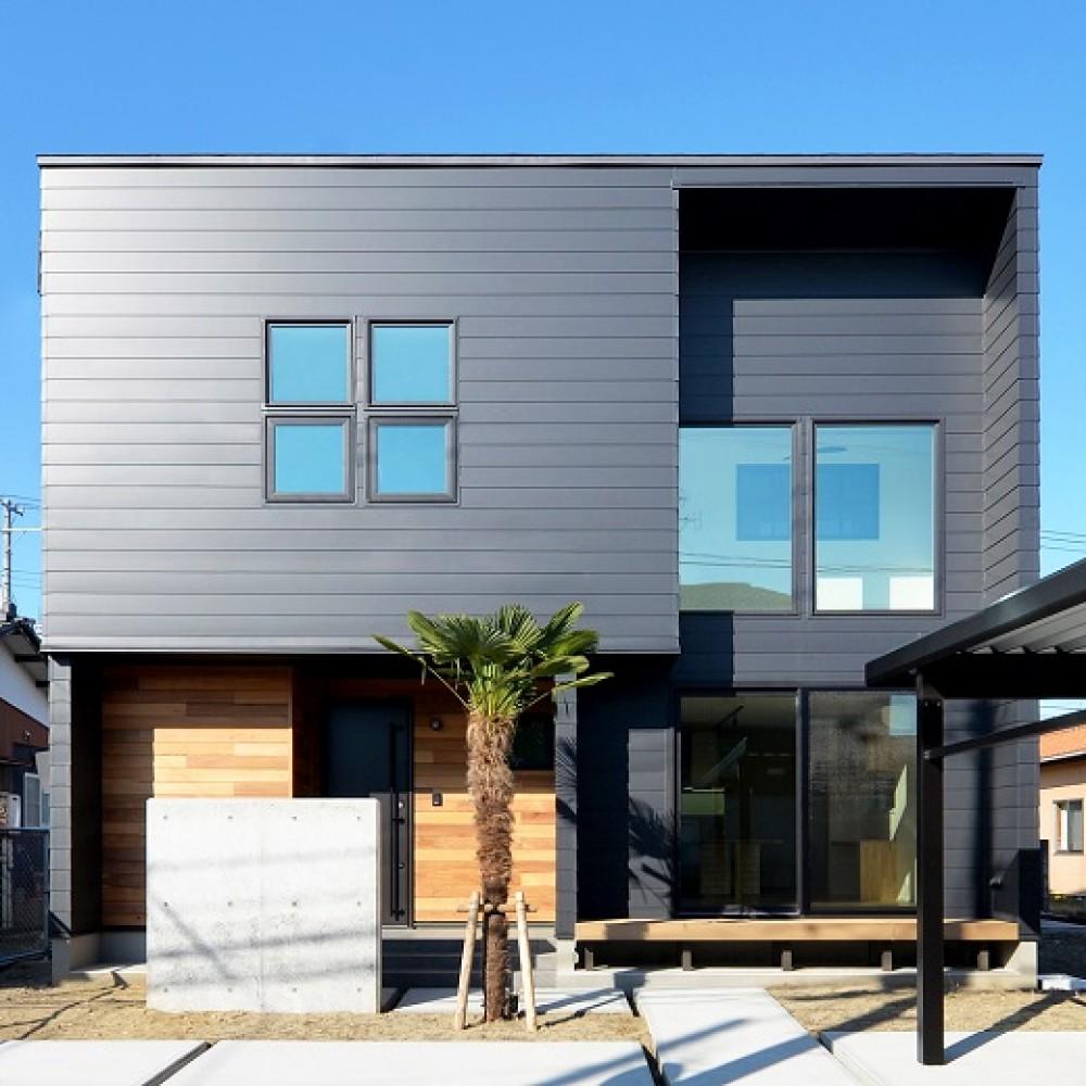 西海岸の風を感じる家 新潟市西区 K様邸