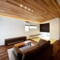 新潟市西蒲区|グレー外壁と無垢材が調和する耐震3の住まい|完成見学会【完全予約制】