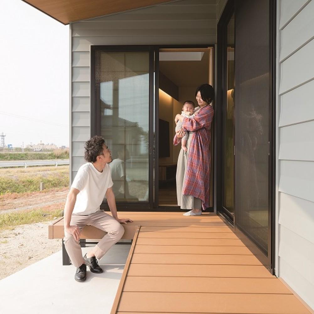 仕切ることで得る開放感、今どきの農家キッチン|新潟市南区|S様邸