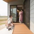新潟市南区田中モデルハウス|仕切ることで得る開放感、今どきの農家キッチン