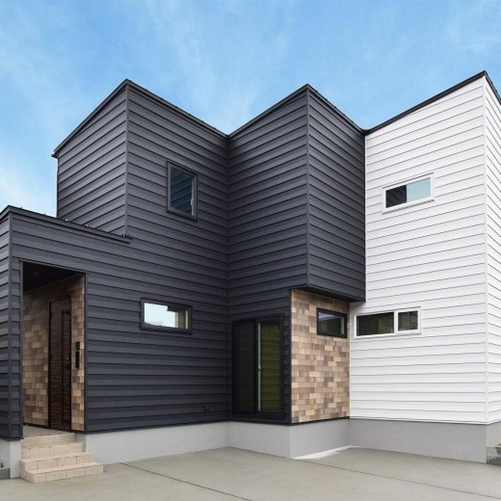 敷地を活かす凹凸の家 新潟市西区 H様邸