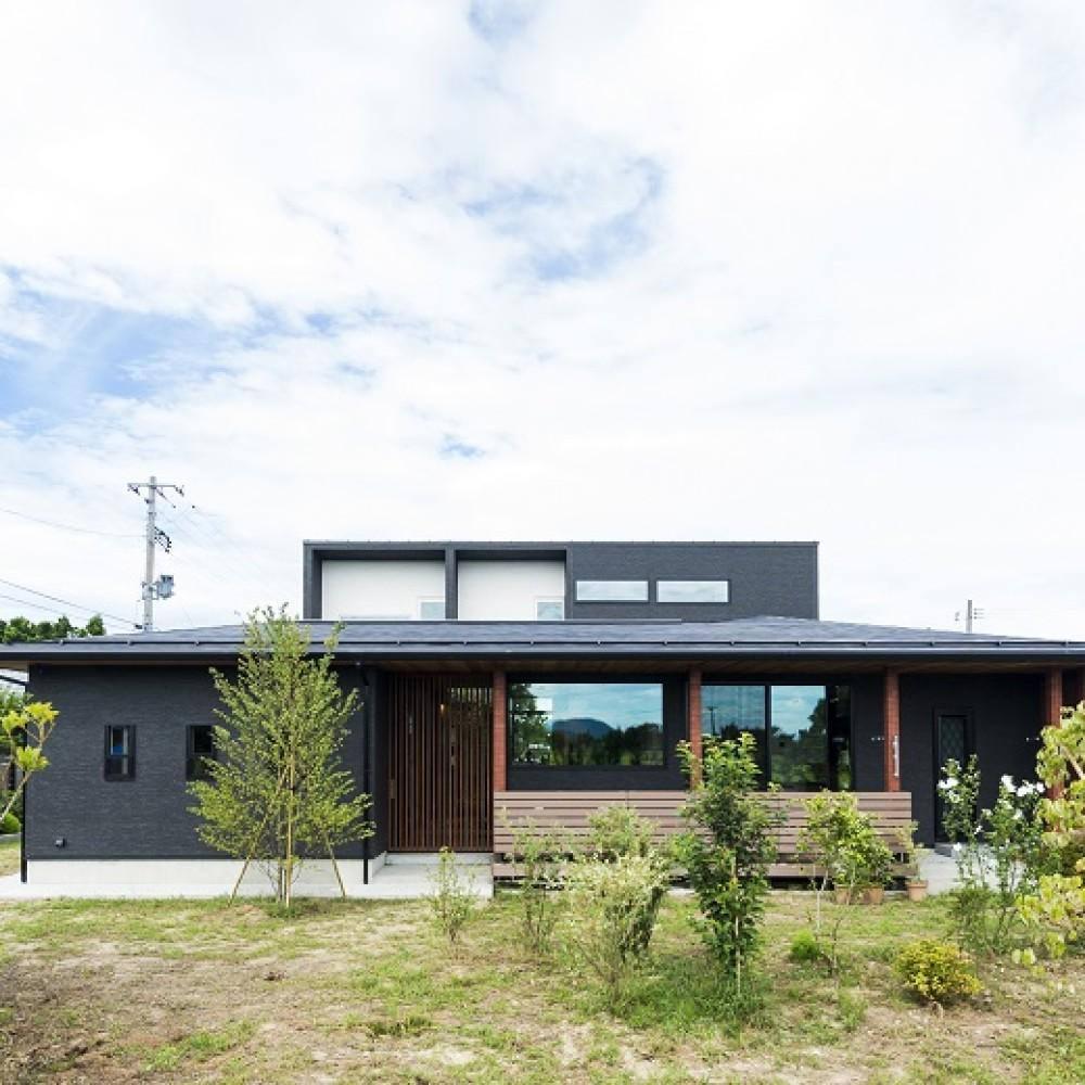 豊かな自然を活かし、眺望を楽しむ住まい 新潟市西蒲区 K様邸