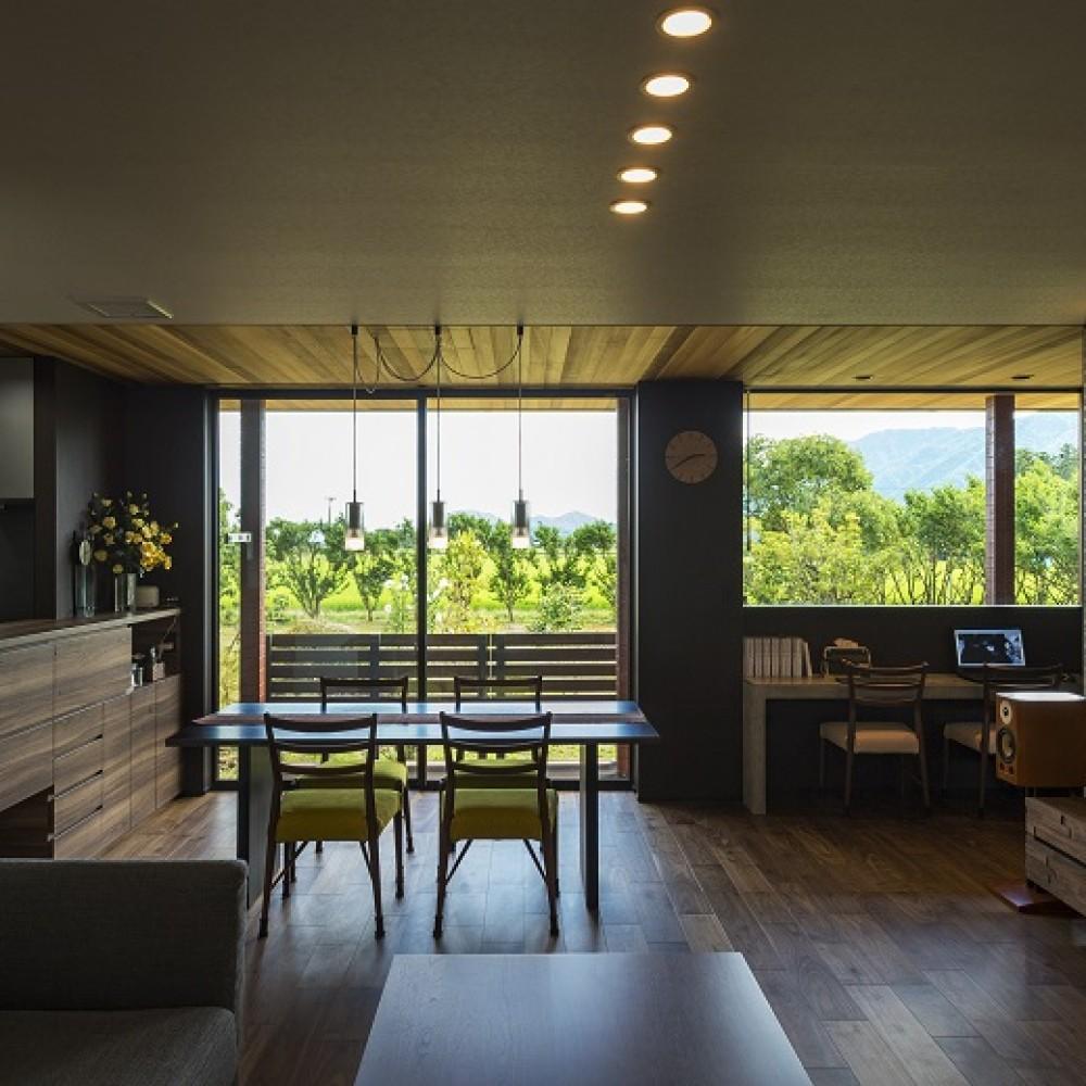 豊かな自然を活かし、眺望を楽しむ住まい|新潟市西蒲区|K様邸