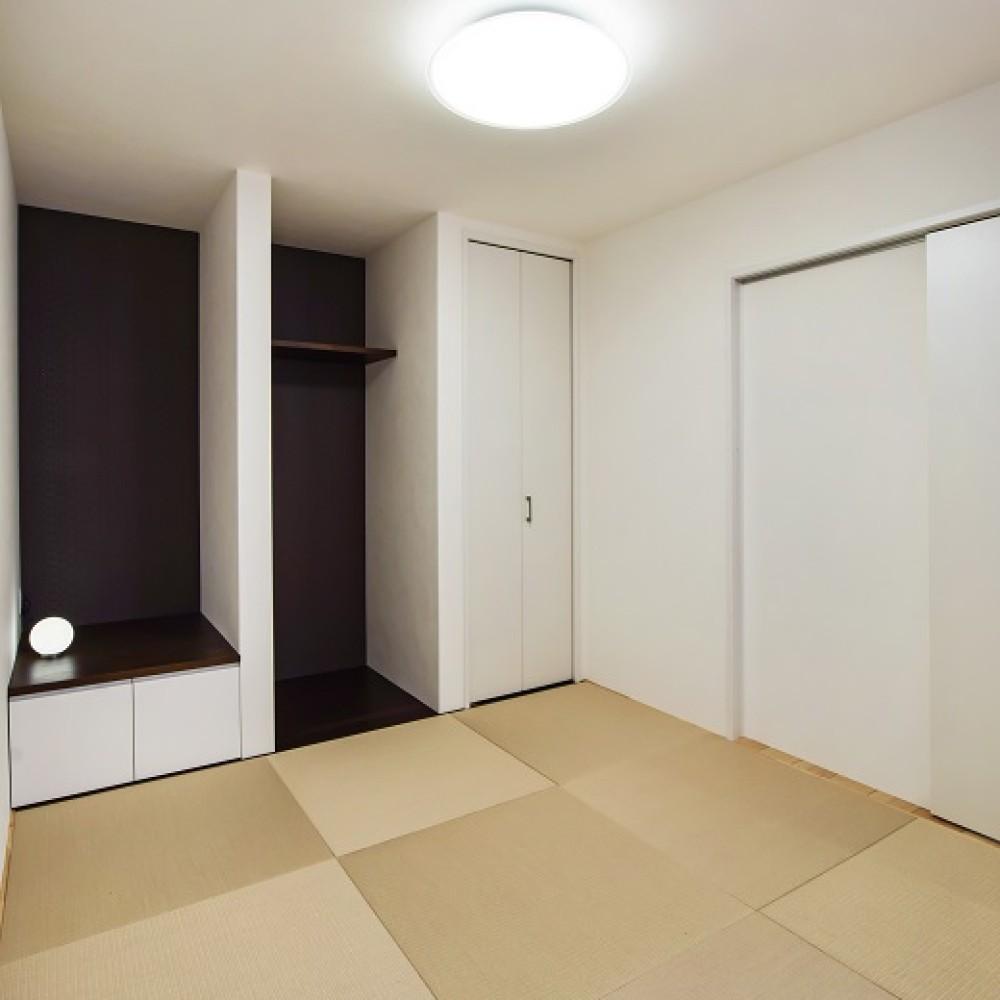 『集い』を考えた二世帯同居型住宅|三条市|K様邸