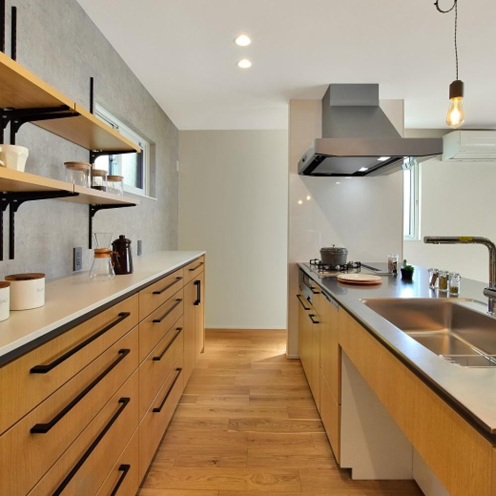 TATEの空間を最大利用した広々空間を実現した家|新発田市|K様邸
