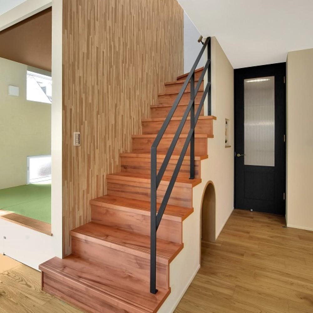 TATEの空間を最大利用した広々空間を実現した家 新発田市 K様邸