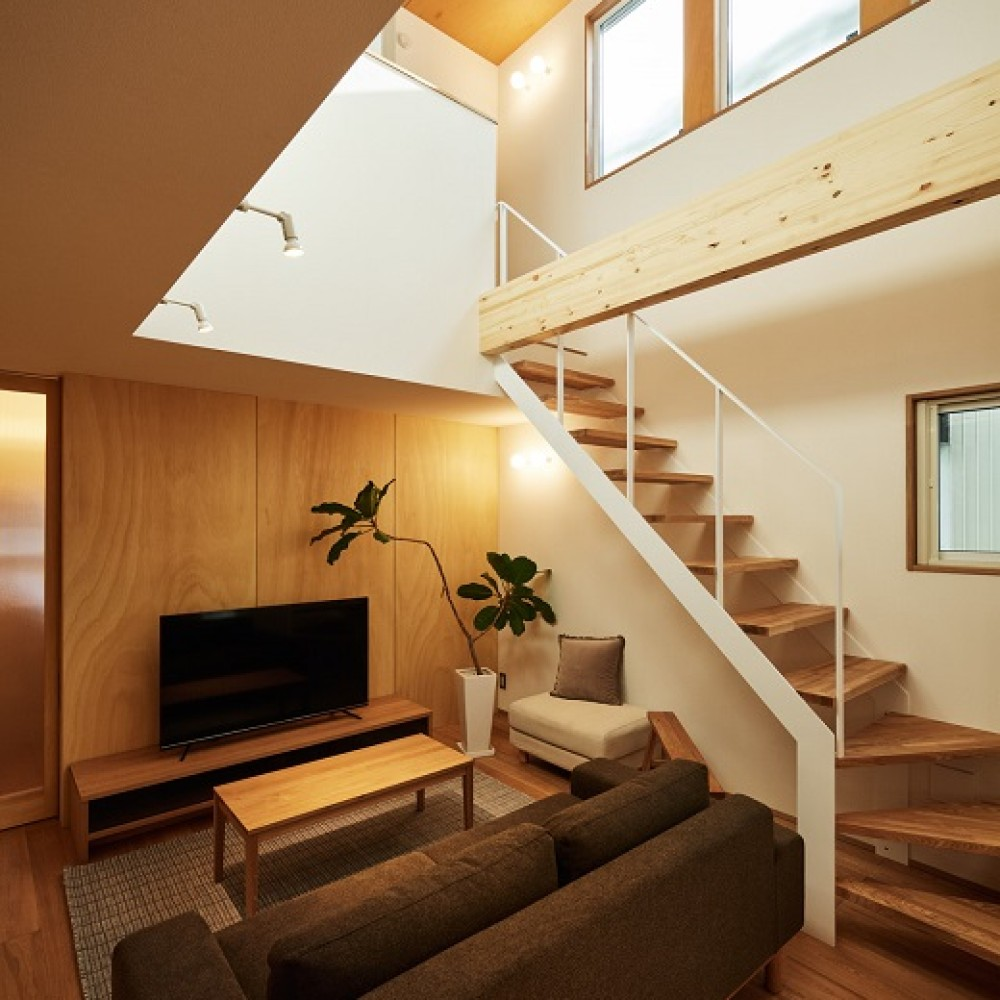 素材を楽しむ小さな家|長岡市|T様邸