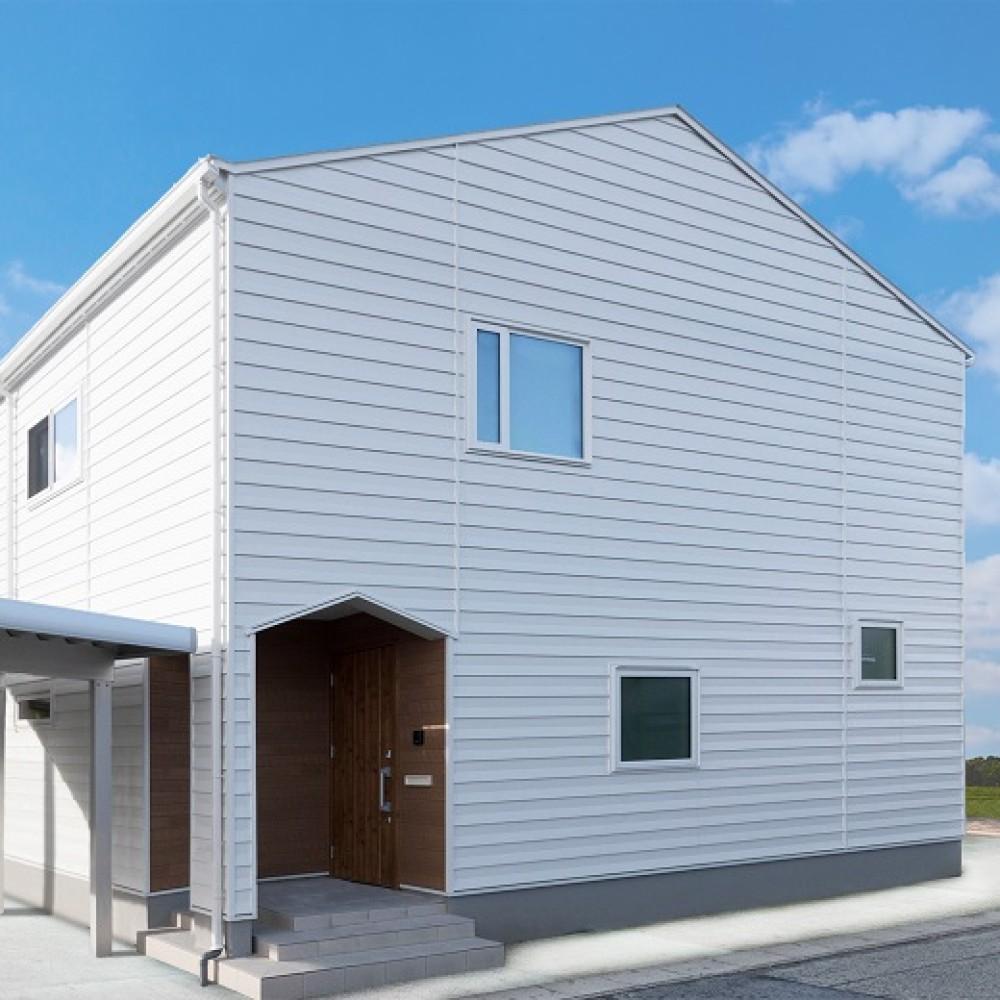 三角屋根の白い家|T様邸
