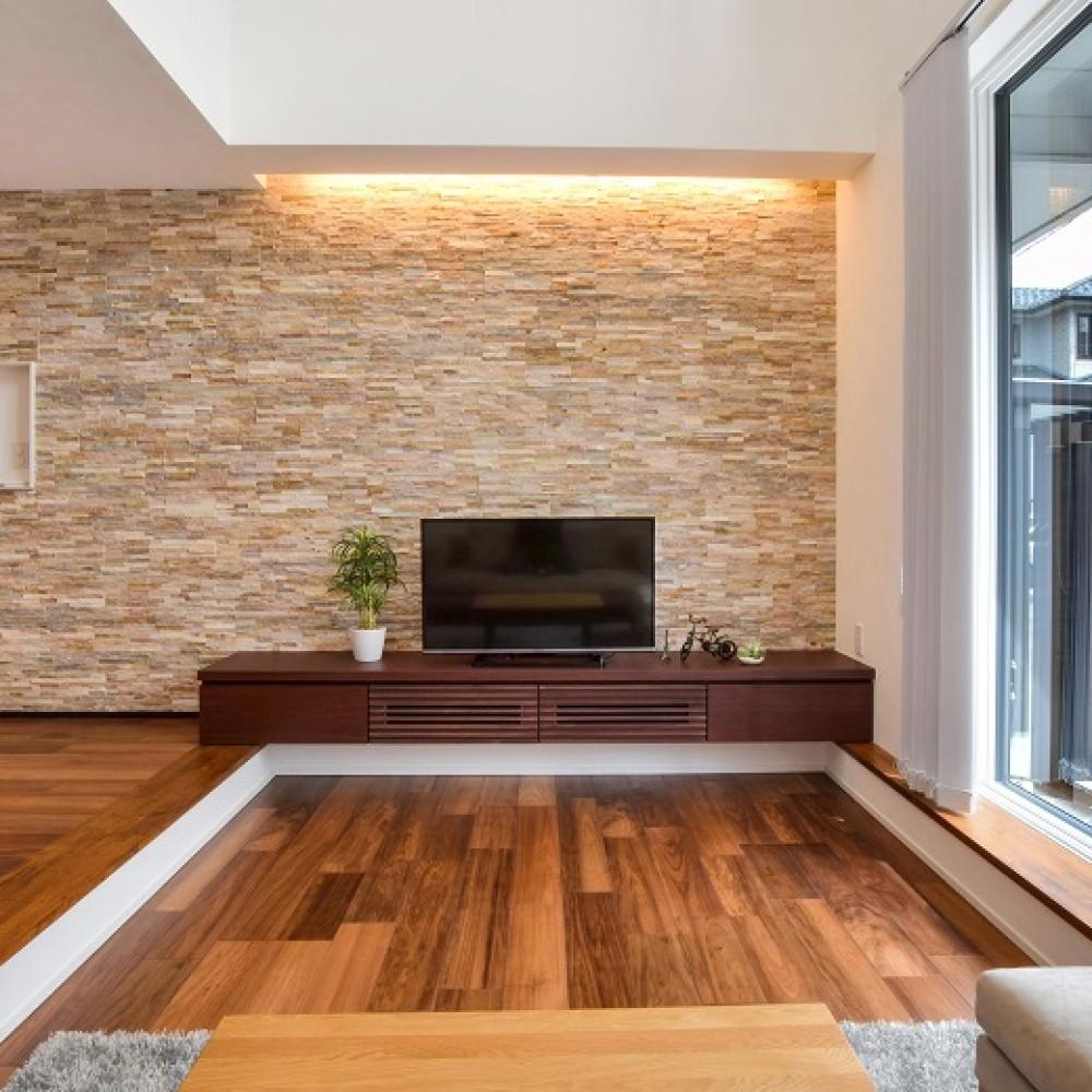 吹抜けのある全館空調の家|新潟市西区|I様邸