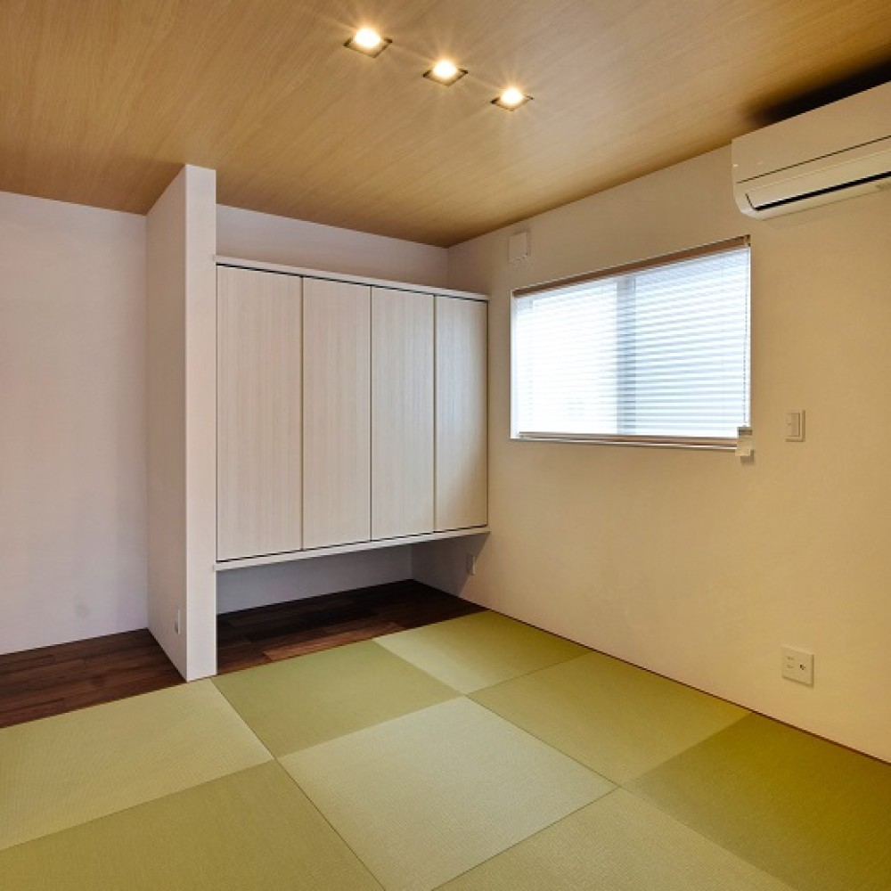 モールテックスキッチンとインテリアにこだわった住まい|新潟市西区|T様邸