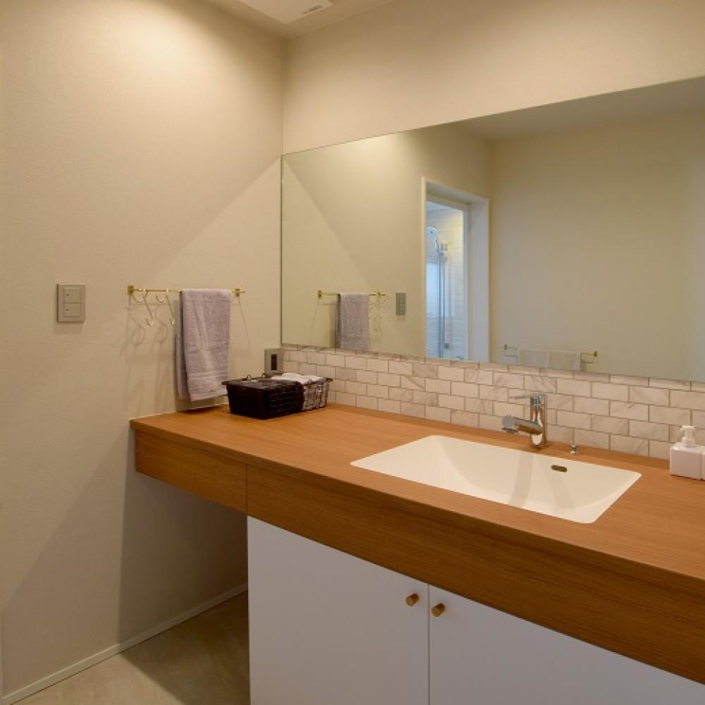 作業スペース2倍のセパレートキッチンがある2世帯住宅|長岡市|S様邸