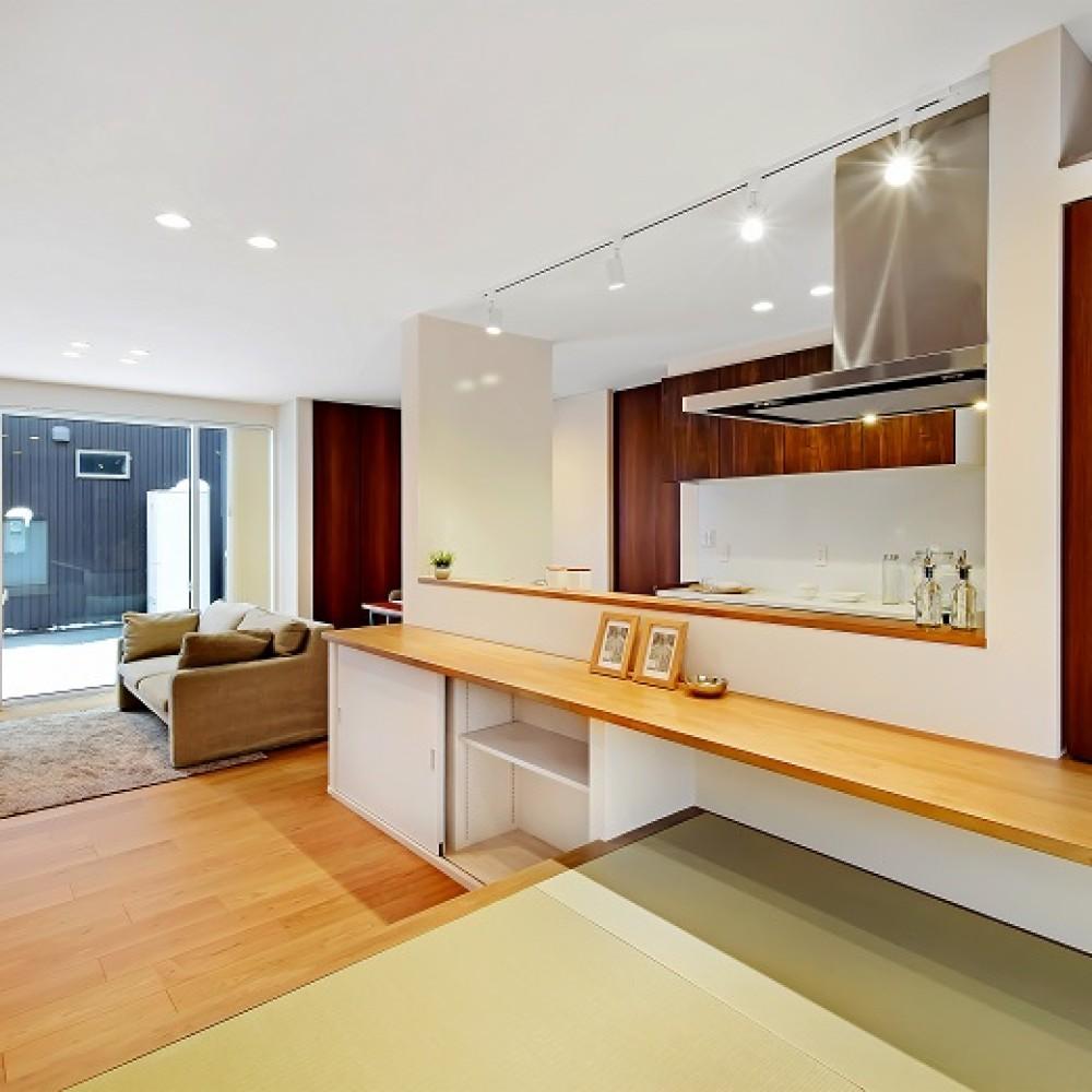 スムーズな生活動線と細部にまで想いの詰まった家事楽の家|長岡市|S様邸