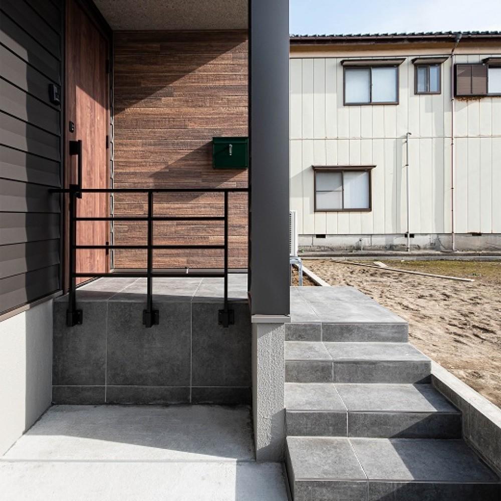 風と光が走る四角いお家|新潟市中央区|K様邸