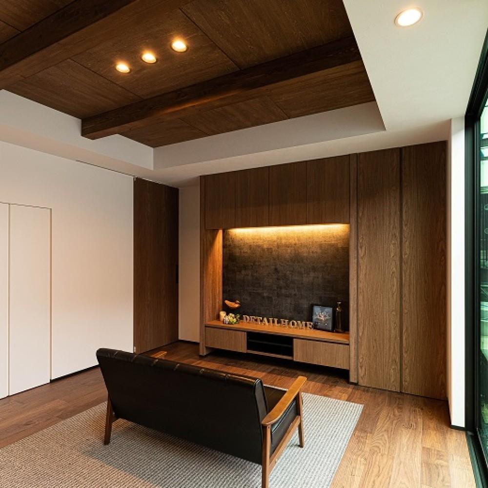 変形敷地に建つこだわりのコンパクトハウス|新潟市東区|U様邸