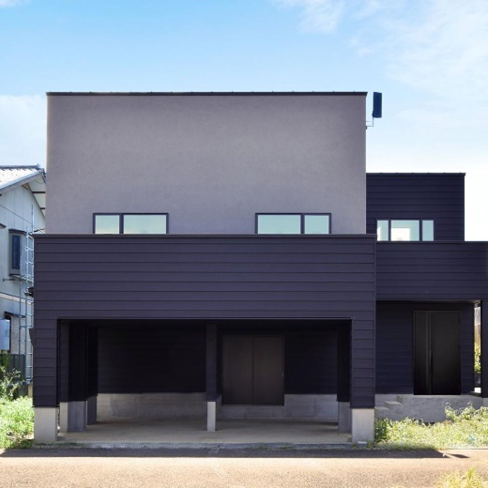 SE構法で実現するガレージ&スキップフロア|見附市|K様邸
