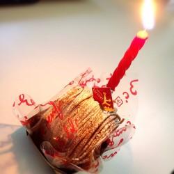 一人誕生日