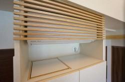 食器棚上 エアコン ルーバー
