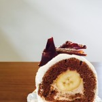 エスカリエさんのロールケーキ