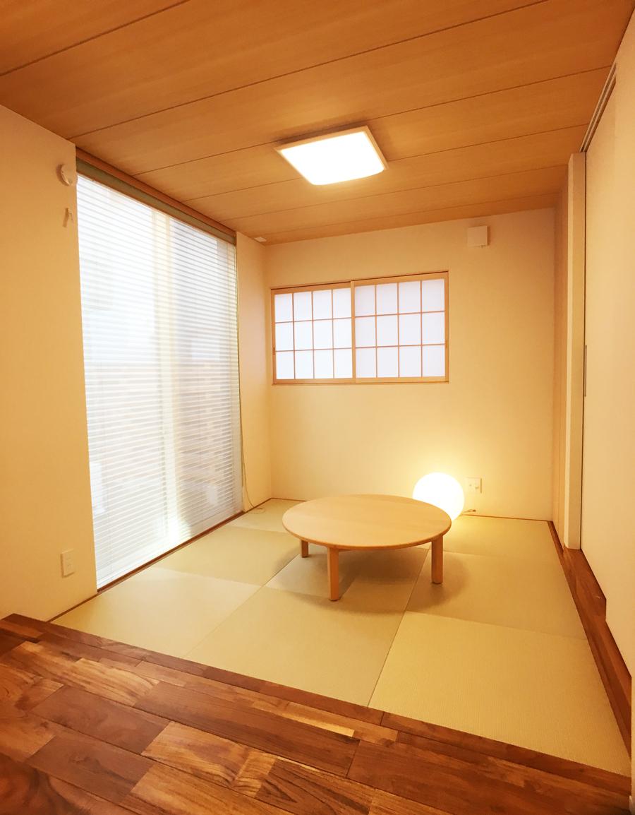 【新潟市】中庭とつながるアウトドアリビング|完成見学会