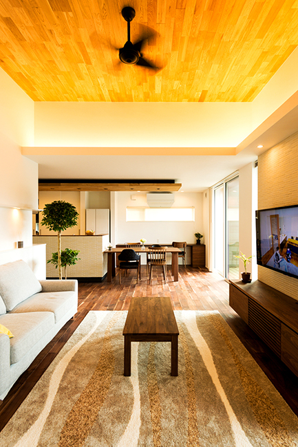 広がりのある空間でのびのびと過ごせる家|新潟市江南区|T様邸