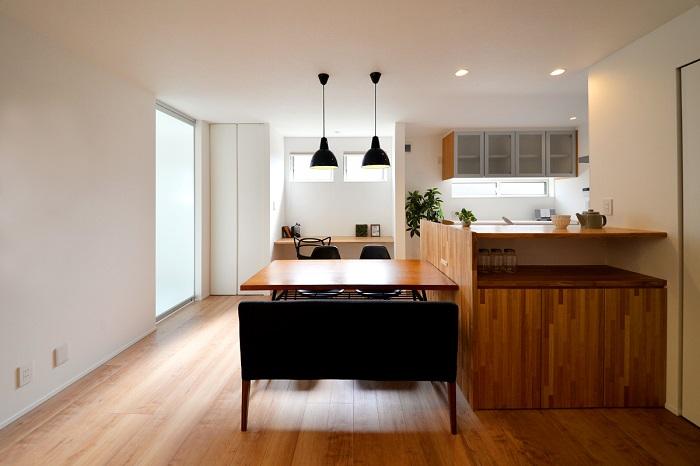 新潟市秋葉区|ワンフロアで完結する家事動線のデザイン|完成見学会