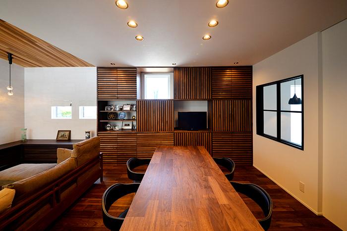 至高の時間を得られる上質感あふれる家 新潟市西区 K様邸