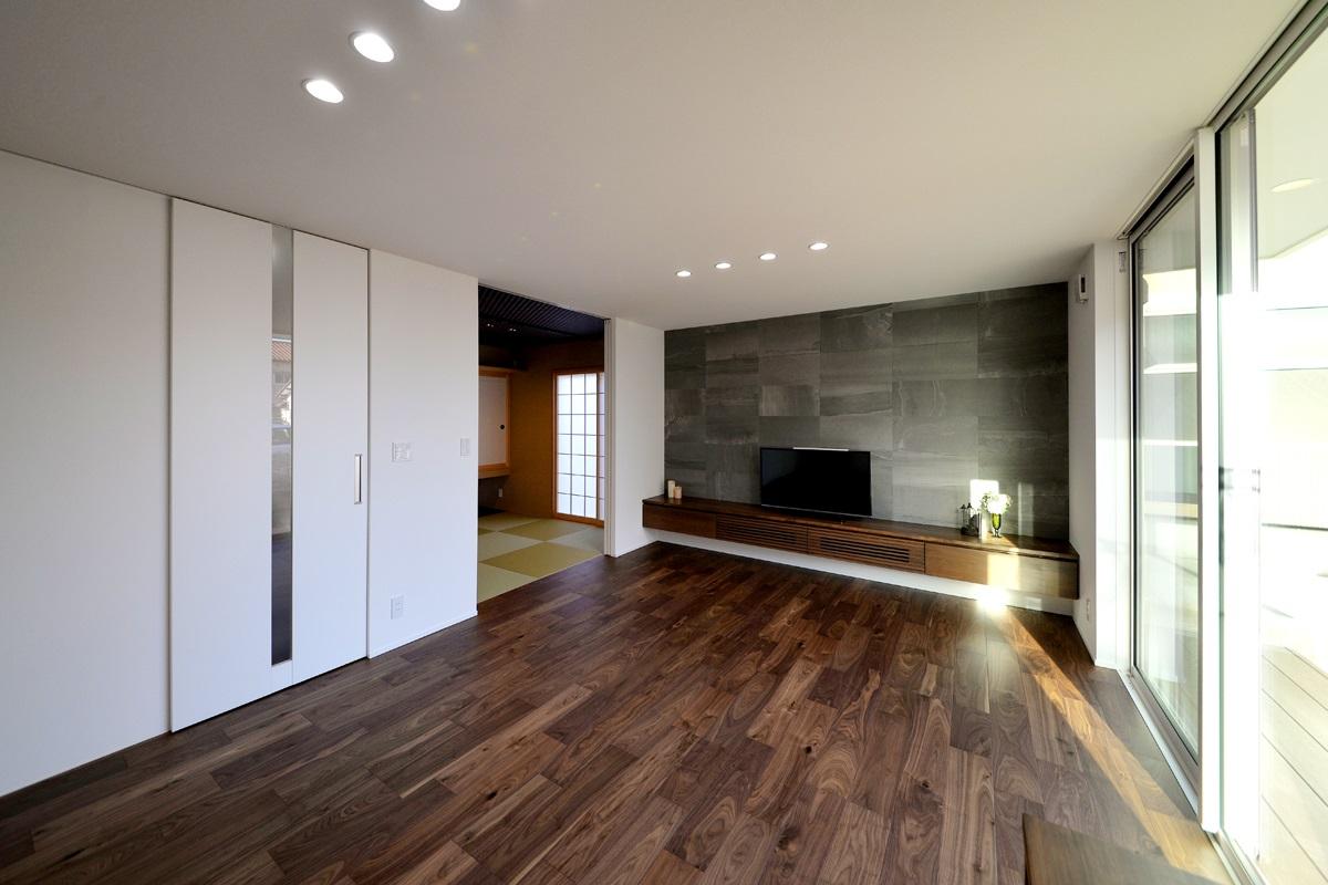 新潟市東区|家事楽設計・美しく見せ・隠|完成見学会