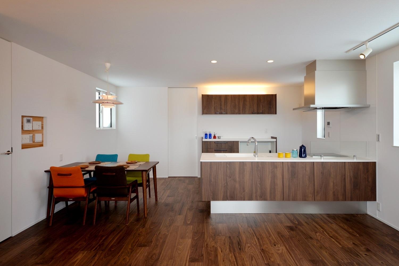 長岡市|インナーガレージのある二世帯デザイン住宅|完成見学会