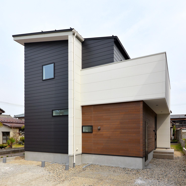 新潟市江南区|ほどよい距離感を、シンプルかつスタイリッシュに演出した住まい|完成見学会 <予約制>