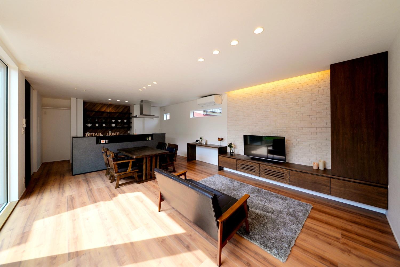 江南区稲葉モデルハウス|ほどよい距離感を、シンプルかつスタイリッシュに演出した住まい