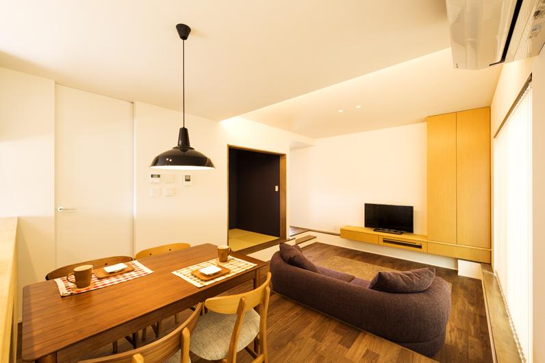 憧れのカフェ空間で過ごす、おしゃれ家族の住まい|三条市|K様邸