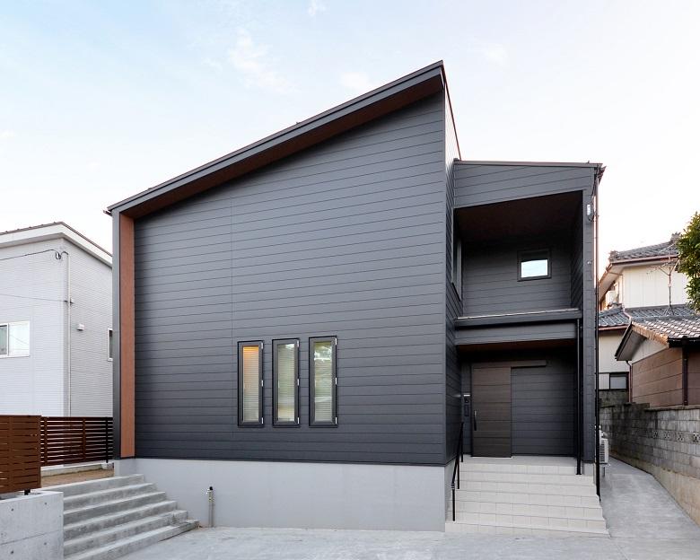 高台に建つ家|新潟市西区|K様邸