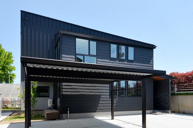 新潟市西区坂井モデルハウス|素材を感じる家 – Nearly ZEH –
