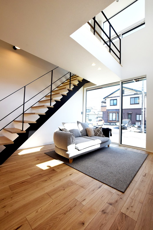 新潟市中央区|狭小地での住宅を考える|完成見学会