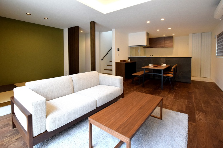 田上町|高台に建つ南向きの明るいデザイン住宅|完成見学会