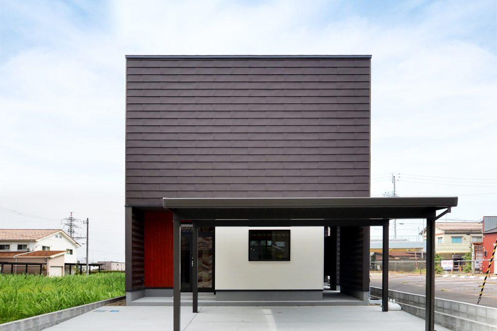 中庭のあるコの字型住宅|新潟市北区|O様邸