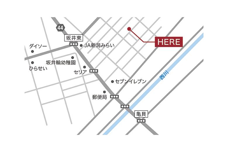新潟市西区坂井東モデルハウス|西海岸の風を感じる家
