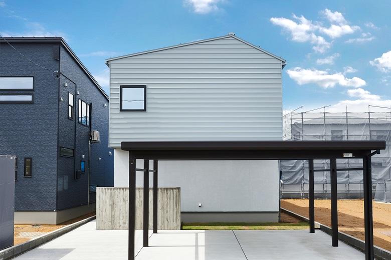 【建売/販売中】長岡市沢田モデルハウス|素材を生かした機能美の住まい